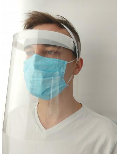 PRZYŁBICA ochronna na twarz - usta i...