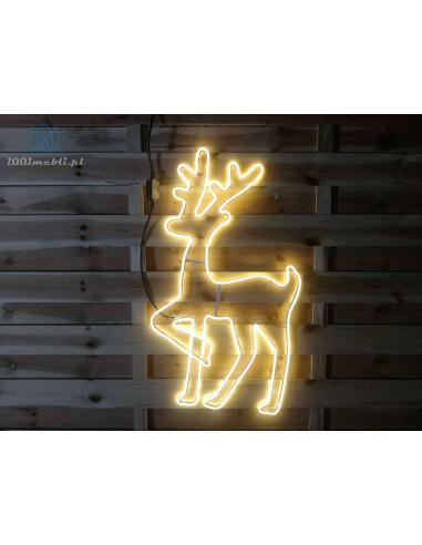 Figura Renifer LED • wys. 82 cm •...