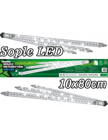 Sople LED zewnętrzne • 10 tub po 80...
