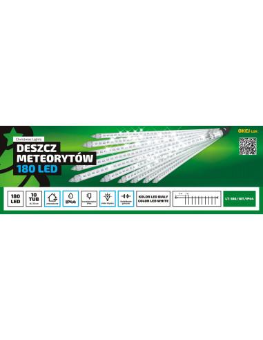 Sople LED deszcz meteorytów • 10 x 30...
