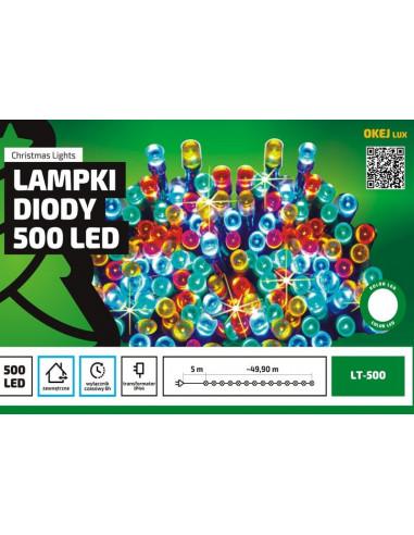 Sznur świetlny 50 m • 500 LED •...