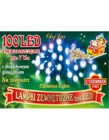 Sznur świetlny 10 m • 100 LED • na...
