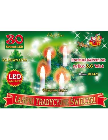 Tradycyjne świeczki sznur 14,5 m • 30...