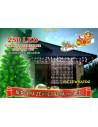 Profesjonalna kurtyna świetlna 1,2m x 2,5m • 250 LED • możliwość łączenia • zewnętrzne oświetlenie świąteczne LED NR 1806