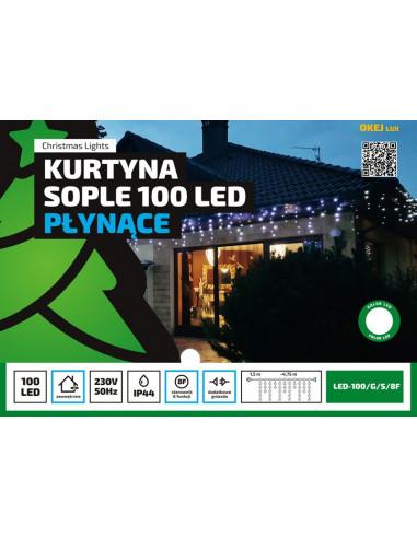 Kurtyna Sople LED 4,75 m • 100 LED •...