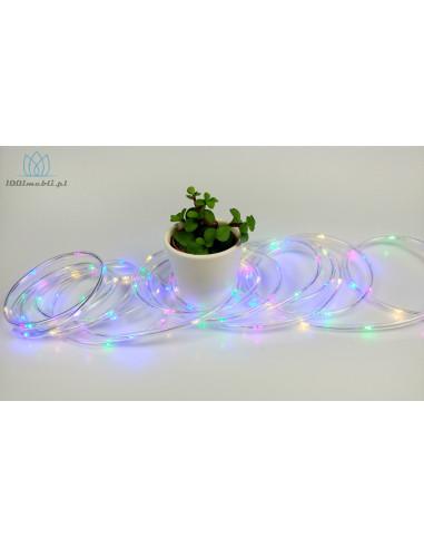 Zewnętrzny wąż świetlny 5 m • 100 LED...