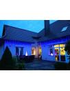 Zewnętrzne lampki choinkowe kurtyna sople 500 LED z programatorem 8 funkcji