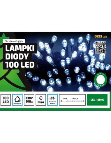 Sznur świetlny 10 m • 100 LED •...