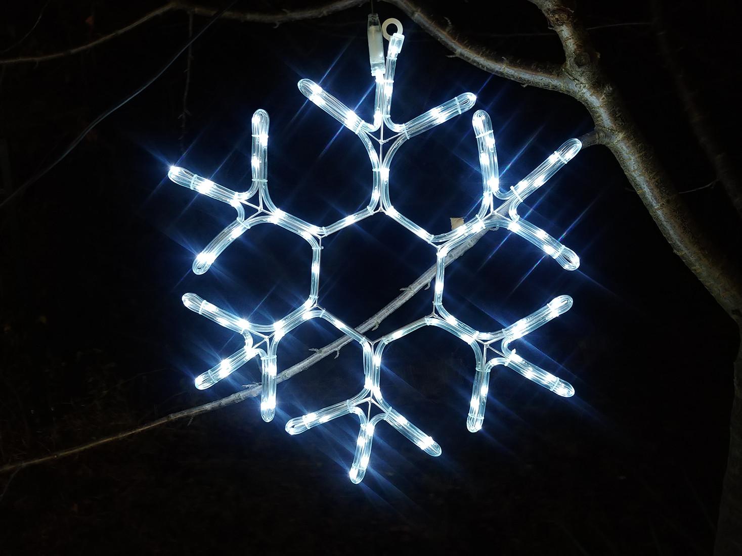 Figura Kometa LED schemat